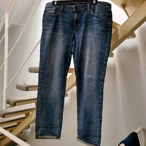 EUC GAP Sexy Boyfriend Straight Blue Jeans sz 12